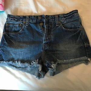 Free People Shorts - Free people shorts size 24